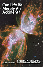 """Can Life be Merely an Accident?"" book by Dr Piccioni"